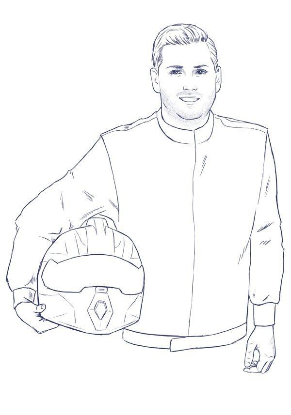 Racing Portraits for Alberto by Crespella