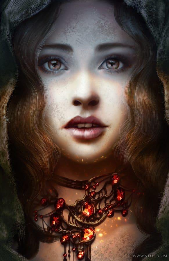 Scarlett by Nell Fallcard
