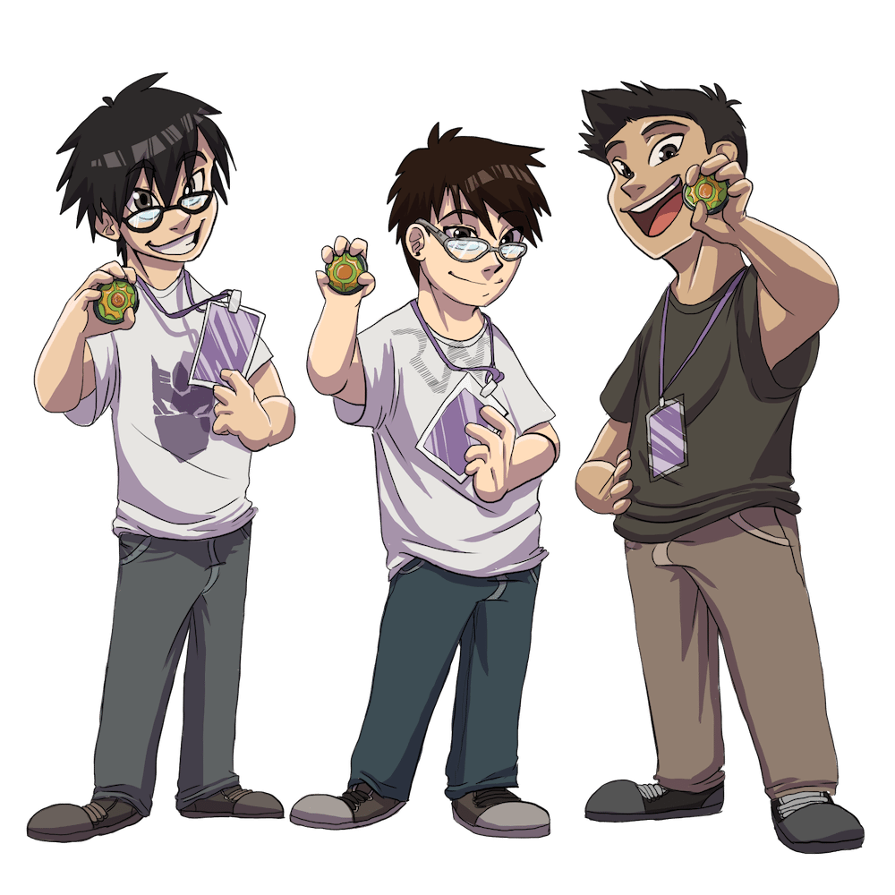 The Beyblade Boys by Denitsa Trandeva