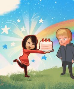 The Birthday Surprise by Joseph Lee
