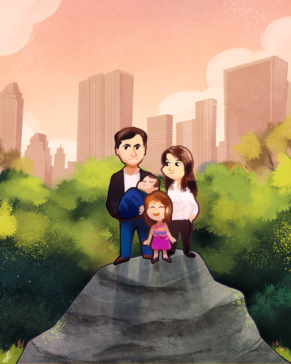 The New York Family by Louie Zong