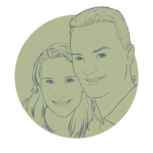 WIP Couples Portrait by Crespella
