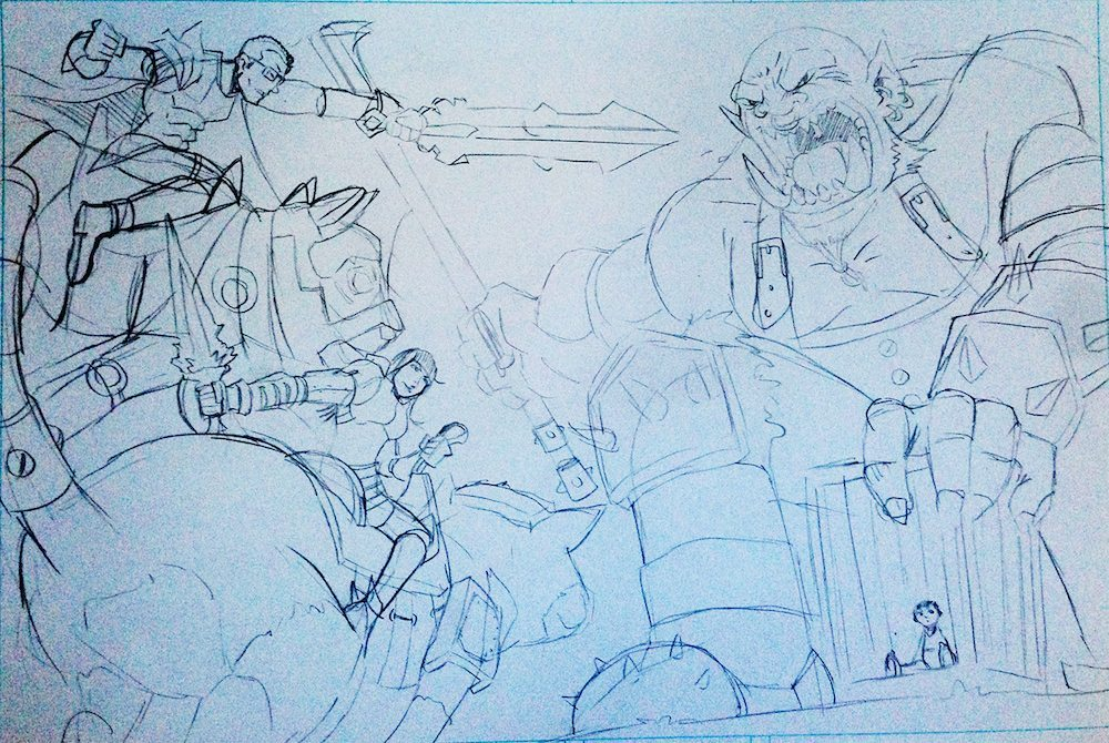 WIP Draft of the Yuan Family Mid Battle by Clay Graham