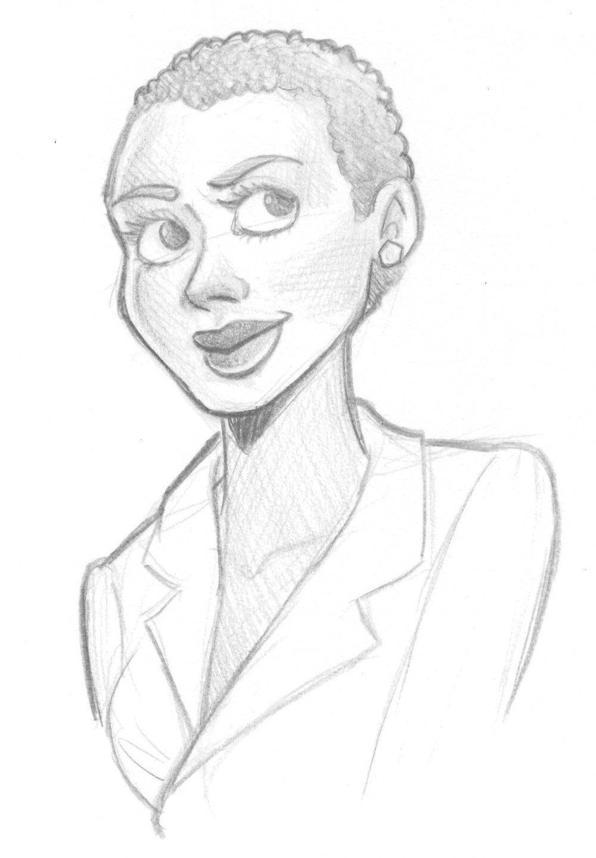 WIP Portrait of Delanie by Windmyll