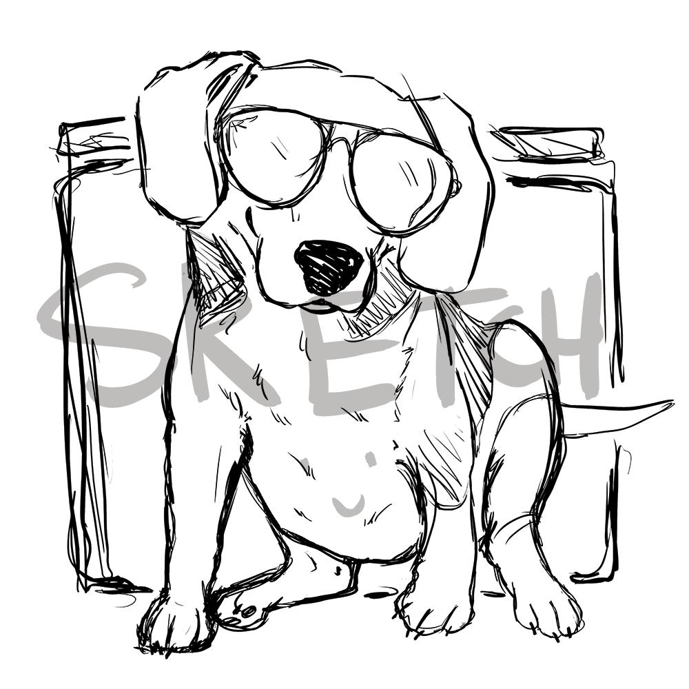 WIP Sketch of Murphy OMurchu by Shirley