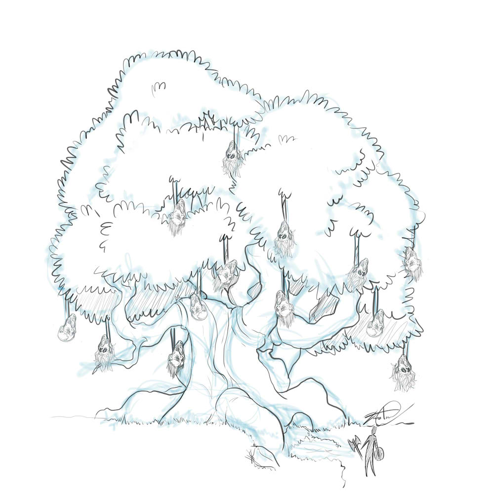 Draft of The Witch Tree by Denitsa Trandeva