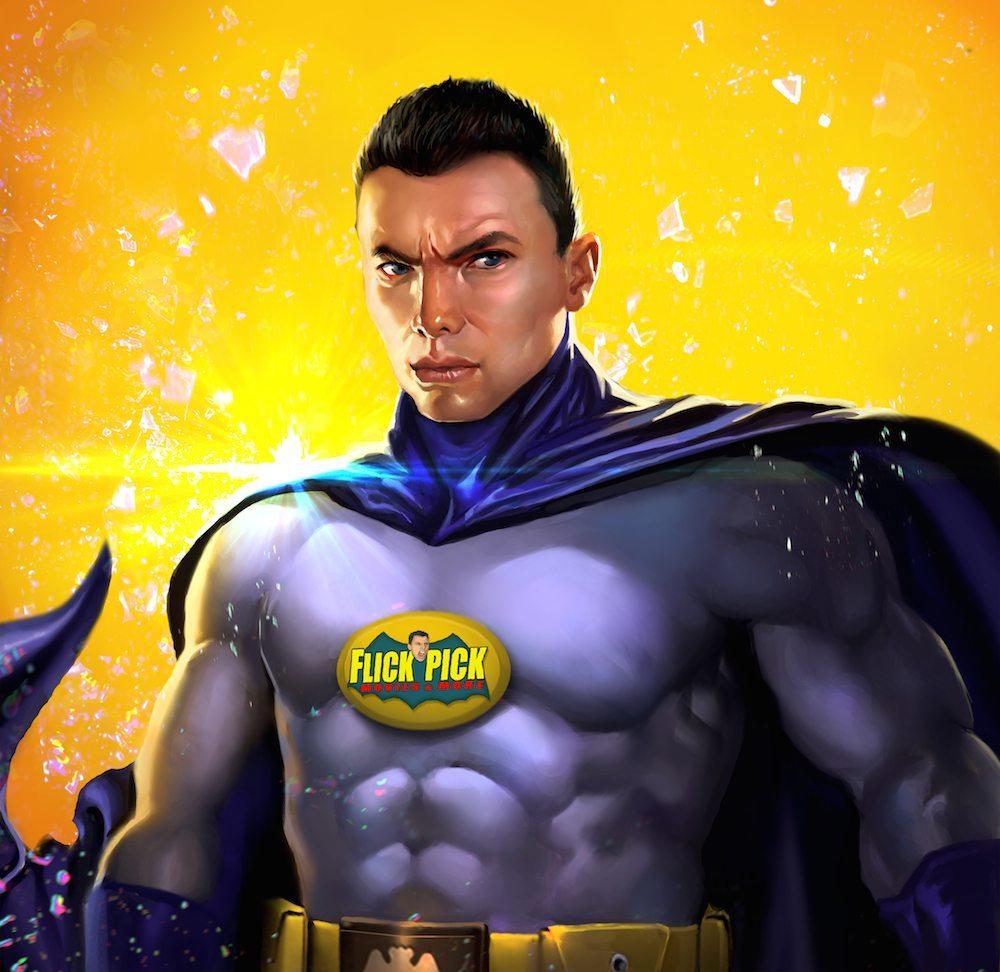 John Flickinger as Batman by Bloodyman88