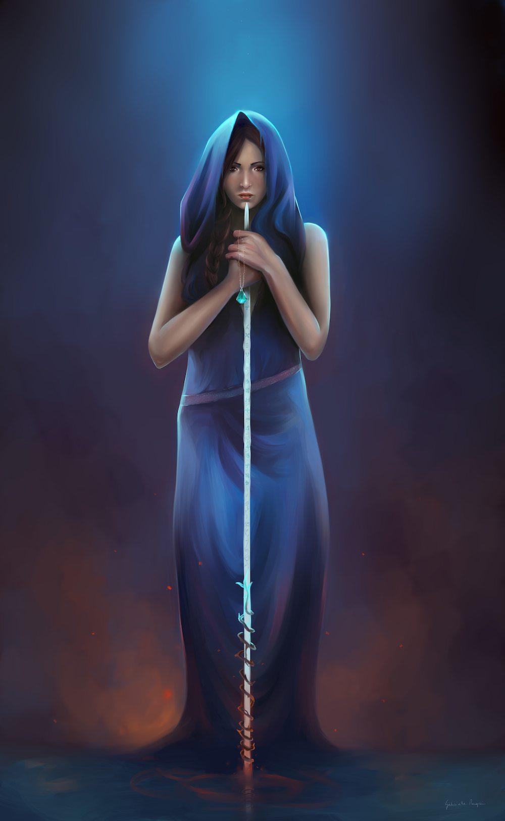 Luna by Gabrielle Ragusi via ArtCorgi