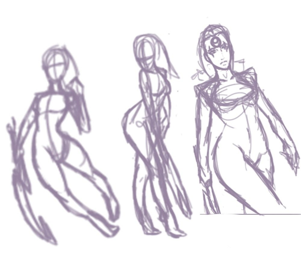 Potential Diana Sketches by Knifoon