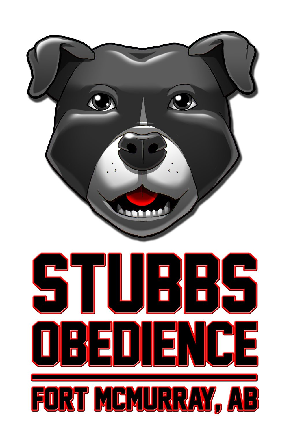 Stubbs Obedience Logo by Clay Graham - Vertical