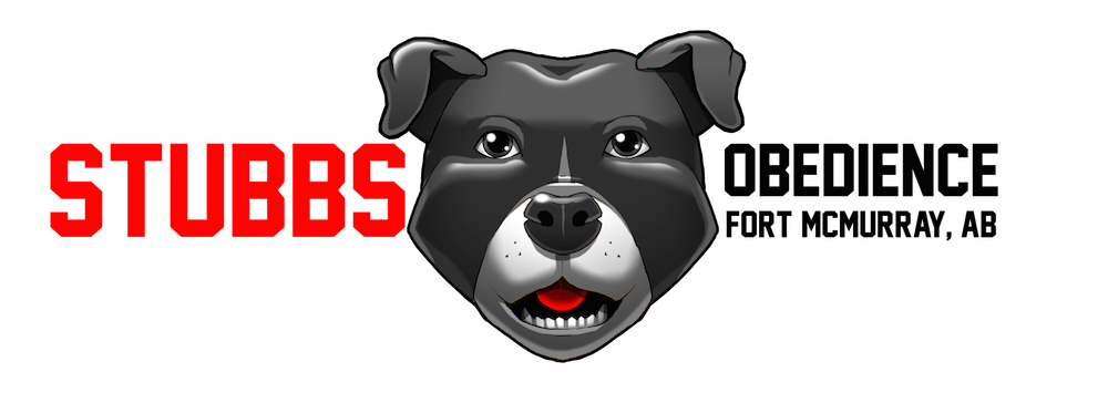 Stubbs Obedience Logo by Clay Graham via ArtCorgi- Black