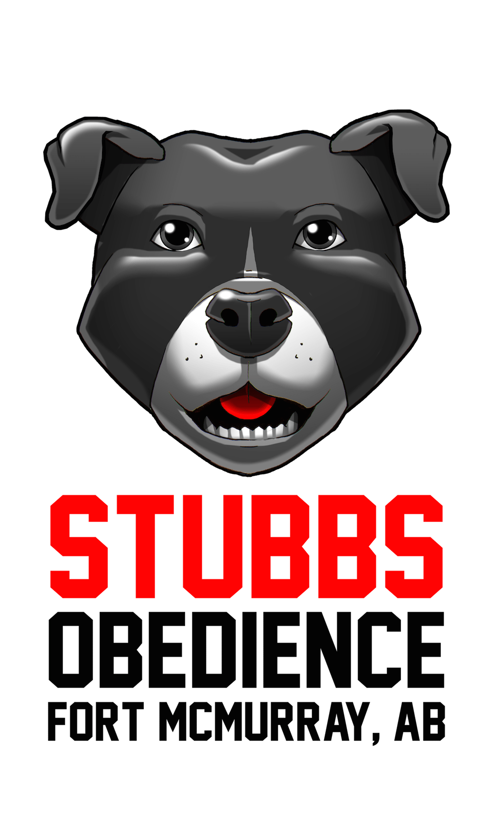 Vertical Stubbs Obedience Logo by Clay Graham via ArtCorgi