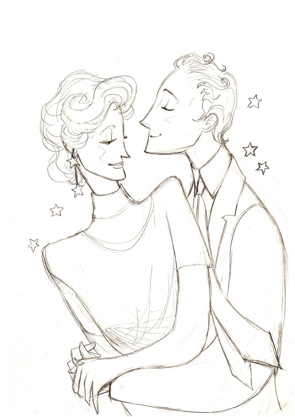 WIP Draft of the Sweetest Couple by Orgueil