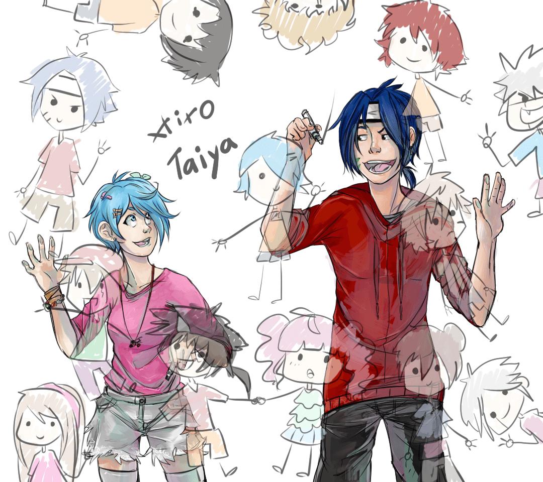 Anime Illustrations by AruRmz