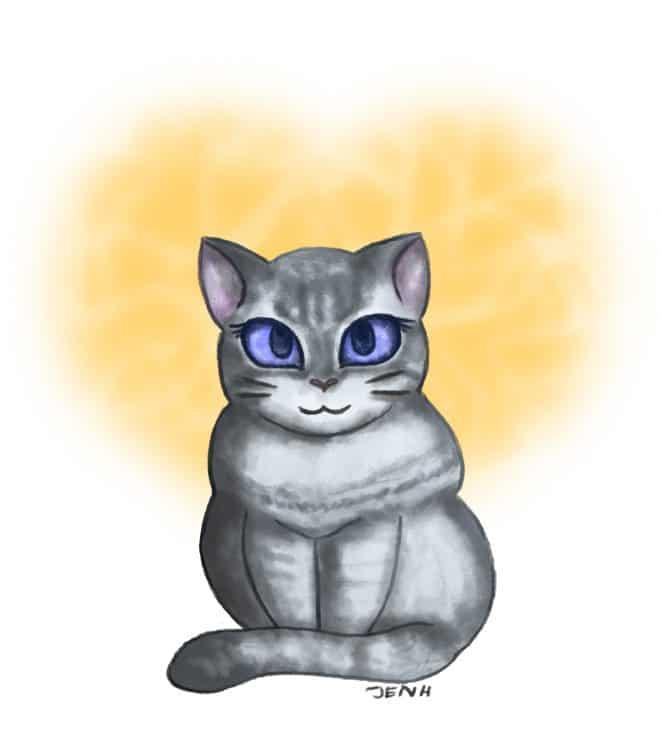 Cat Illustration by Jennifer Hicks