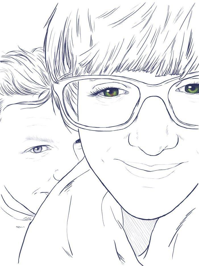 Couple Portrait WIP by Crespella