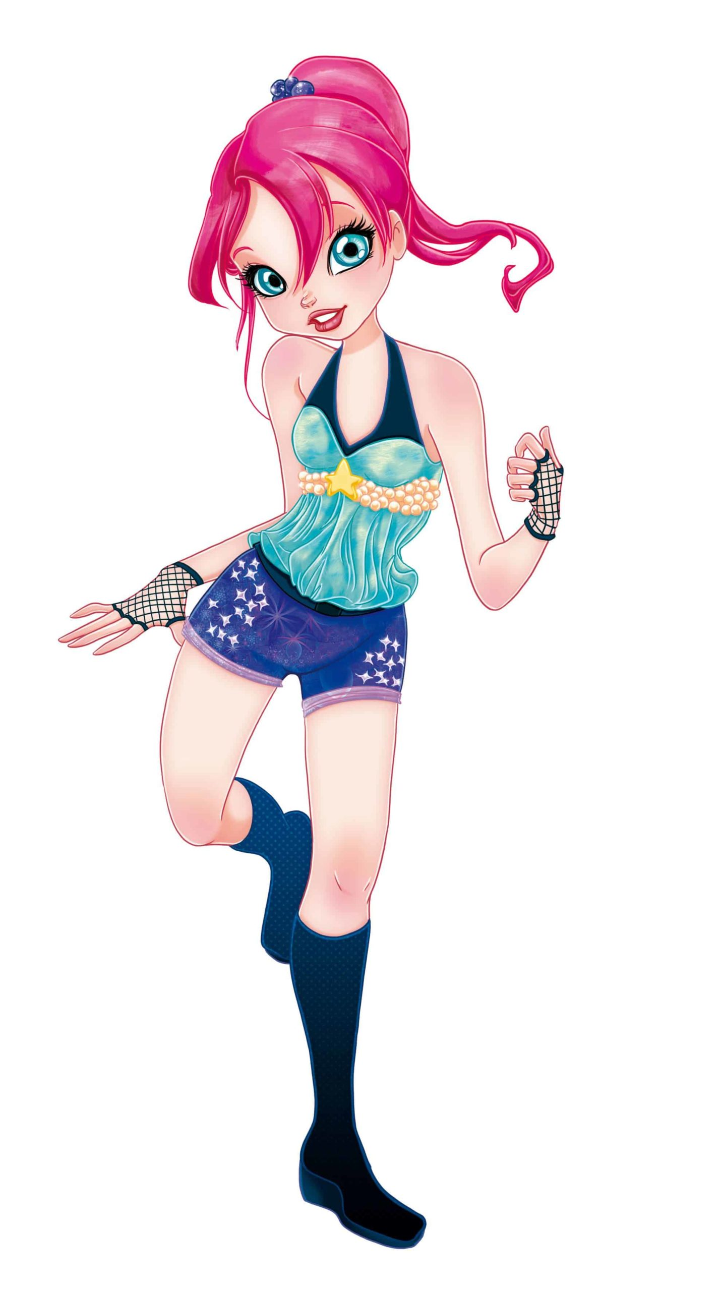 Disco Teen Illustration by Elisa Moriconi