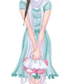 Doll Fashion Illustration by Elisa Moriconi