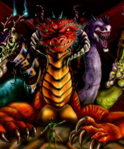 Dragon Illustration by BenDX