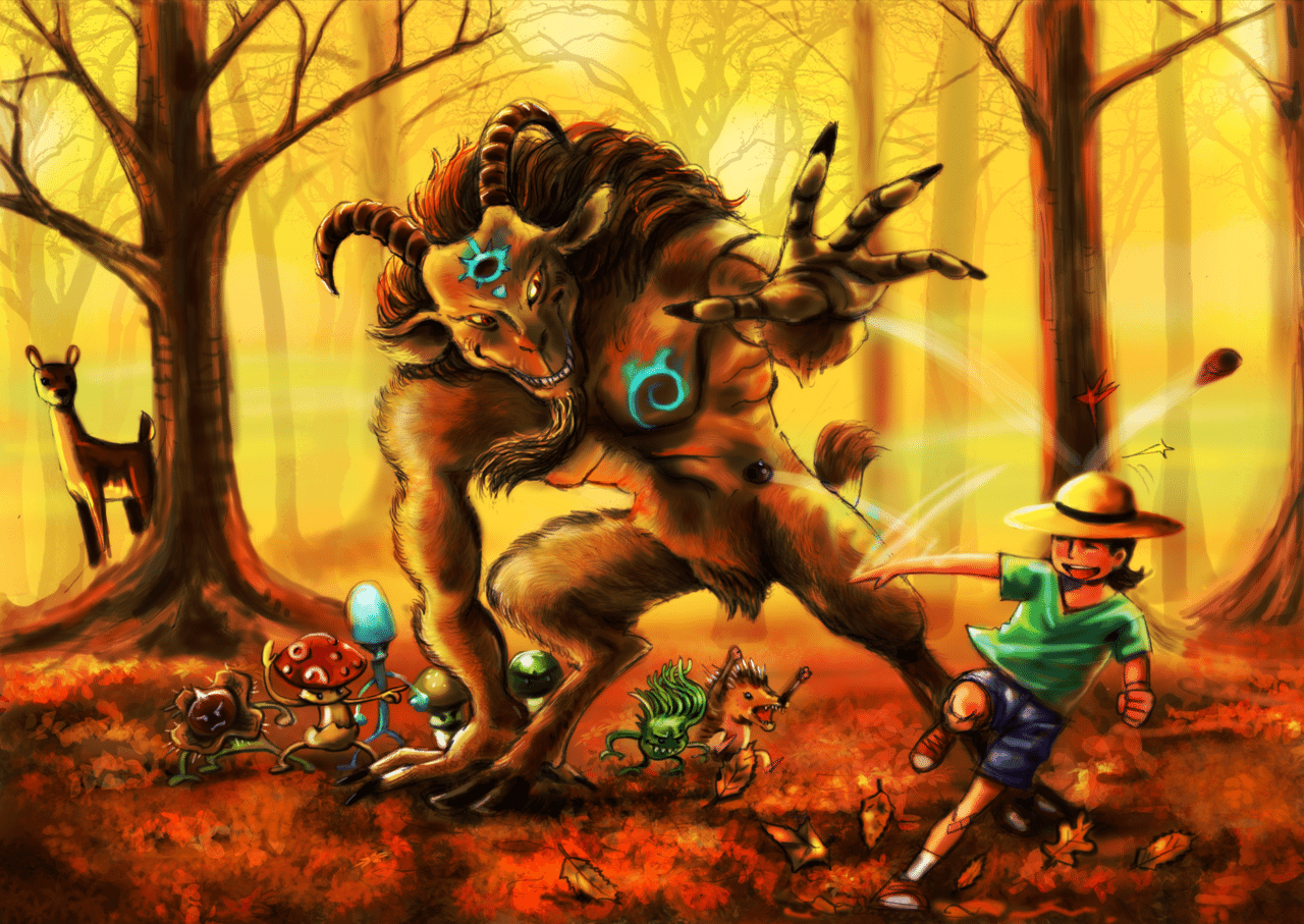Fall Games by BenDX