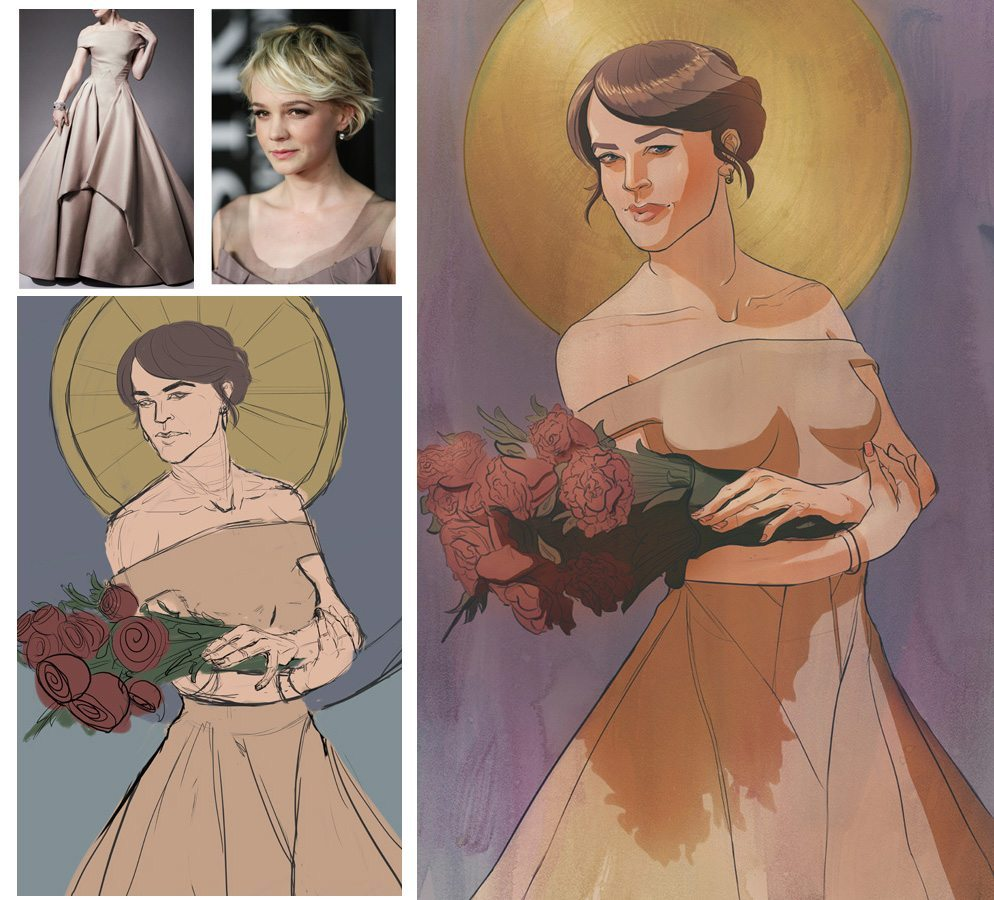 Fashion Illustration by Terri Morgan