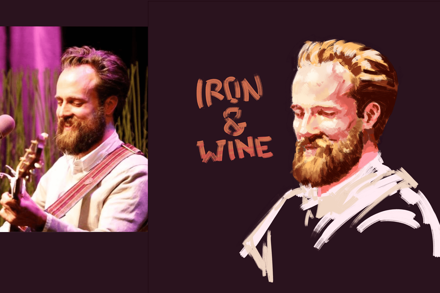 Iron and Wine Portrait by Diogonen