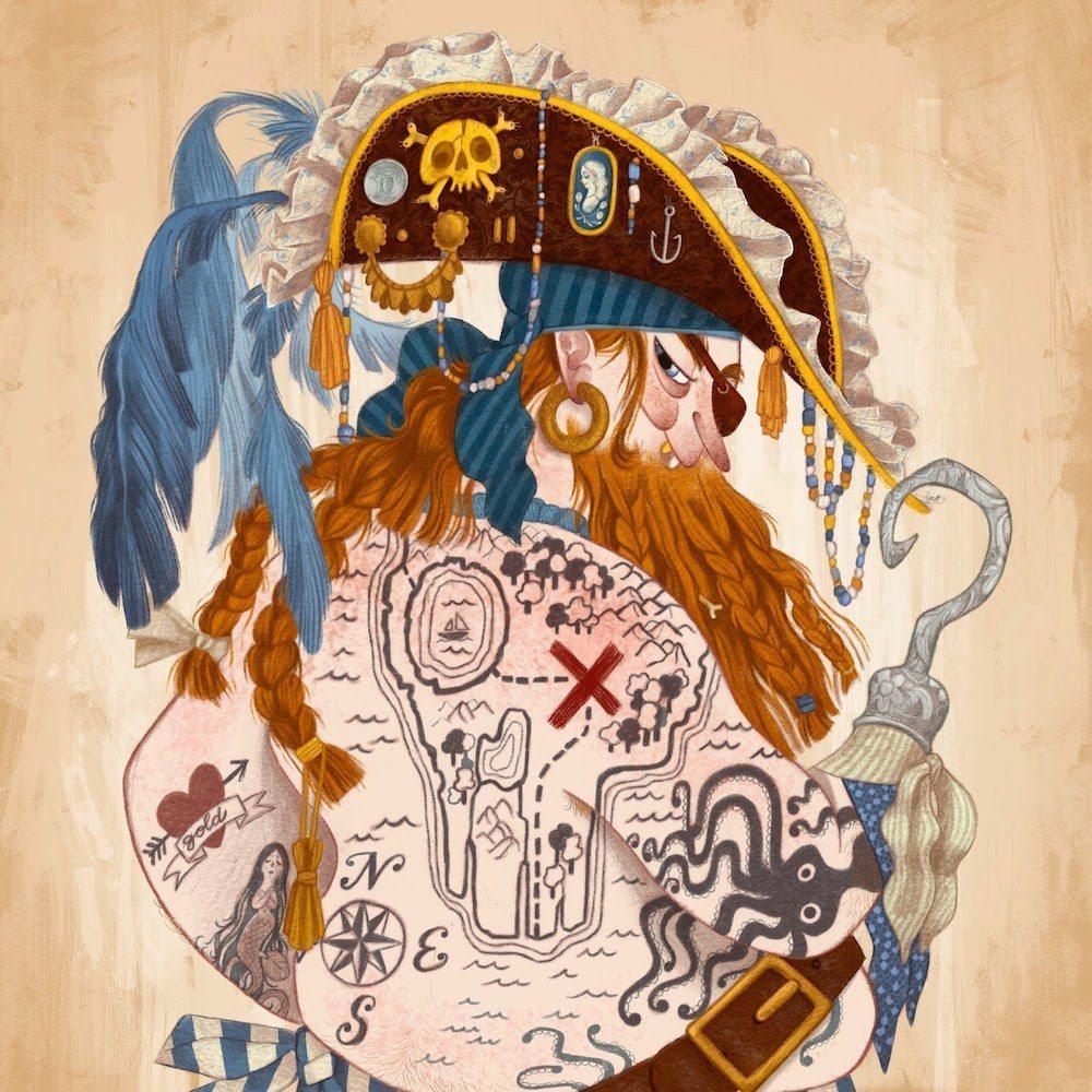 Proper Sailor Illustration by Fabio Mancini