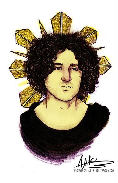 Saintly Portrait by Alekibutt