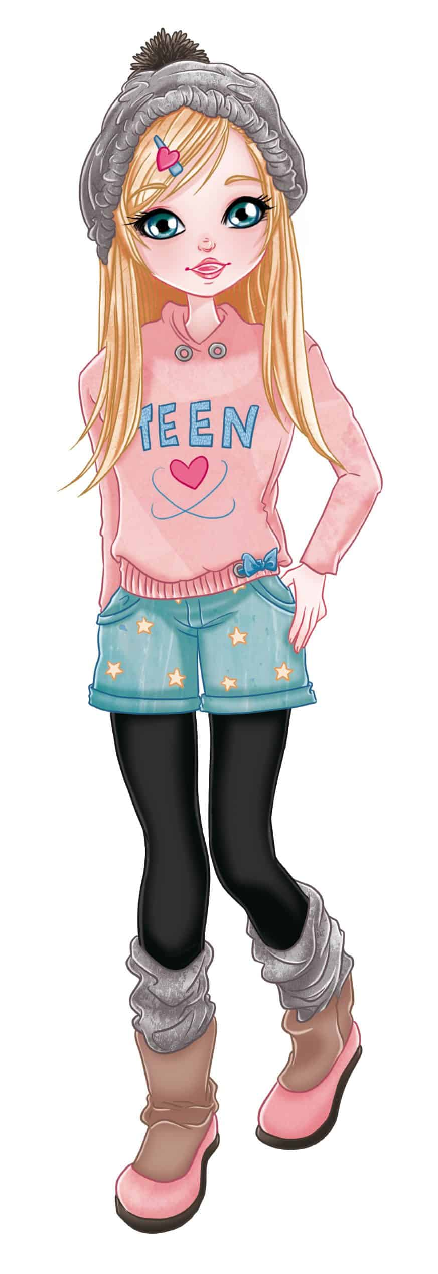 Teen Fashion Illustraiton by Elisa Moriconi