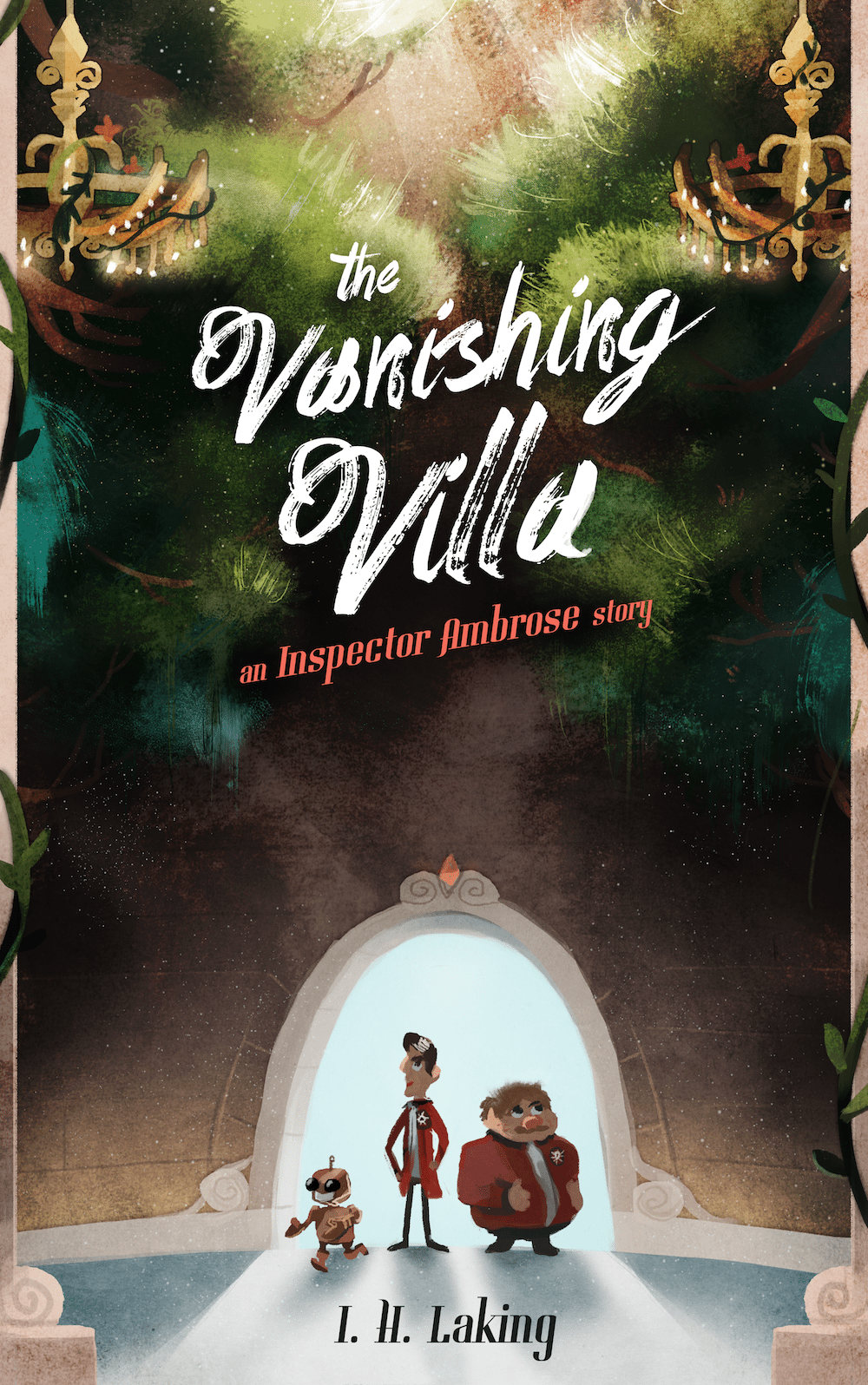 The Vanishing Villa Cover Design by Louie Zong via ArtCorgi