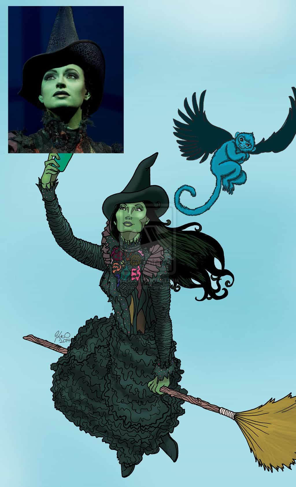 The Wicked Witch by Kt