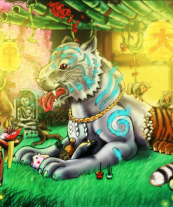Tiger Sanctuary Illustration by BenDX