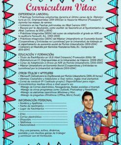 Visual CV by Beatriz Albir