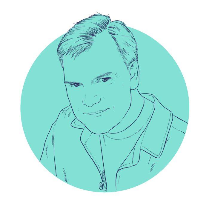 WIP Portrait of Bill Van Orsdel by Crespella