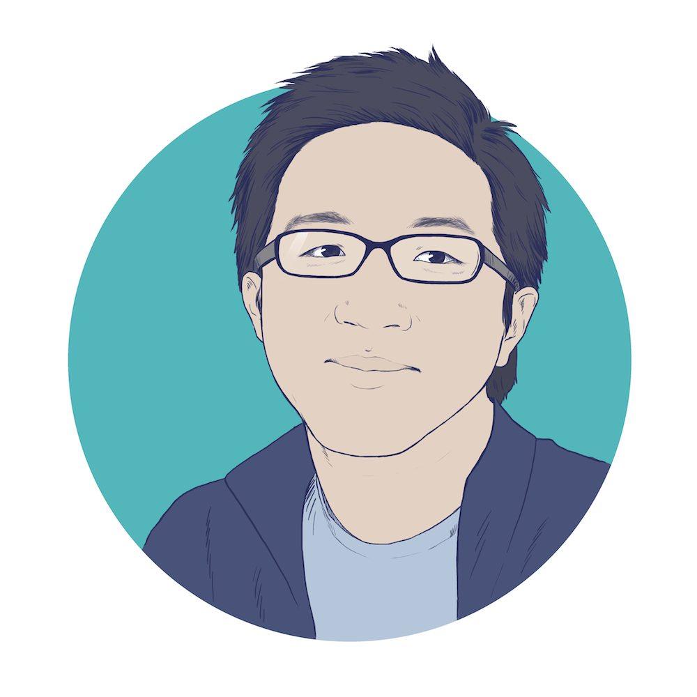 Allen Hsu by Crespella via ArtCorgi