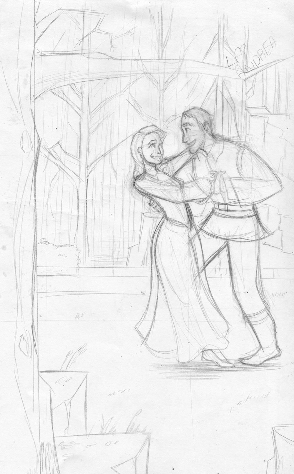 Couple-in-the-Woods-WIP-by-Silvadoray
