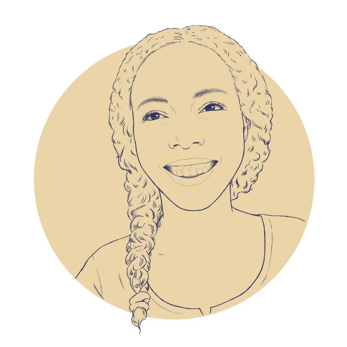 Draft of JZN Author Portrait with Teeth