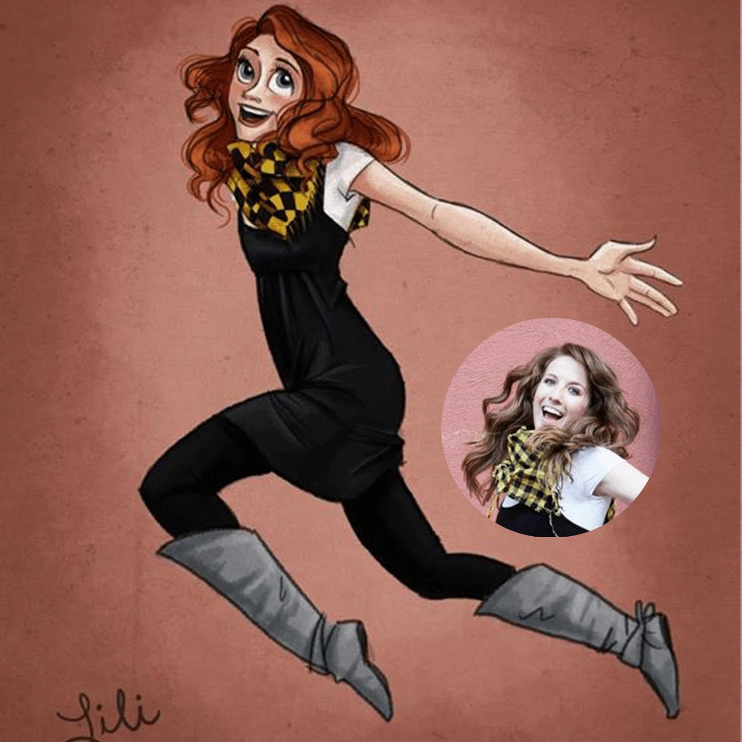 Glamor Portrait by Lili Ribeira