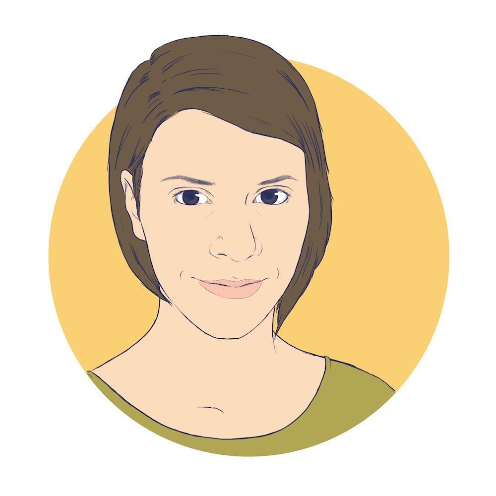 Melanie Shebel by Crespella via ArtCorgi