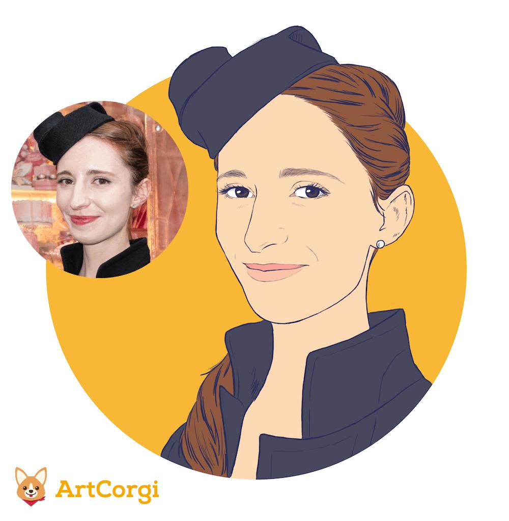 Simone by Crespella via ArtCorgi Before and After