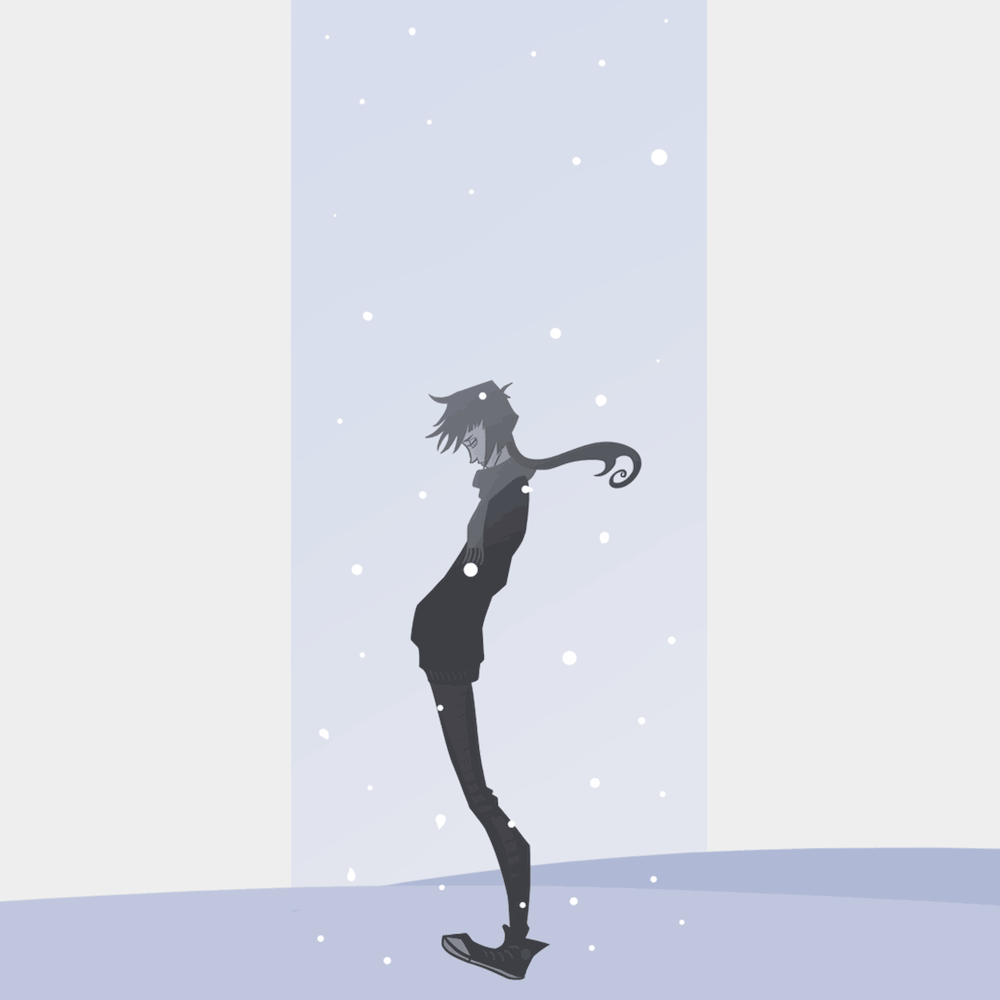 Stylized Illustration by Blacksmiley -Snow