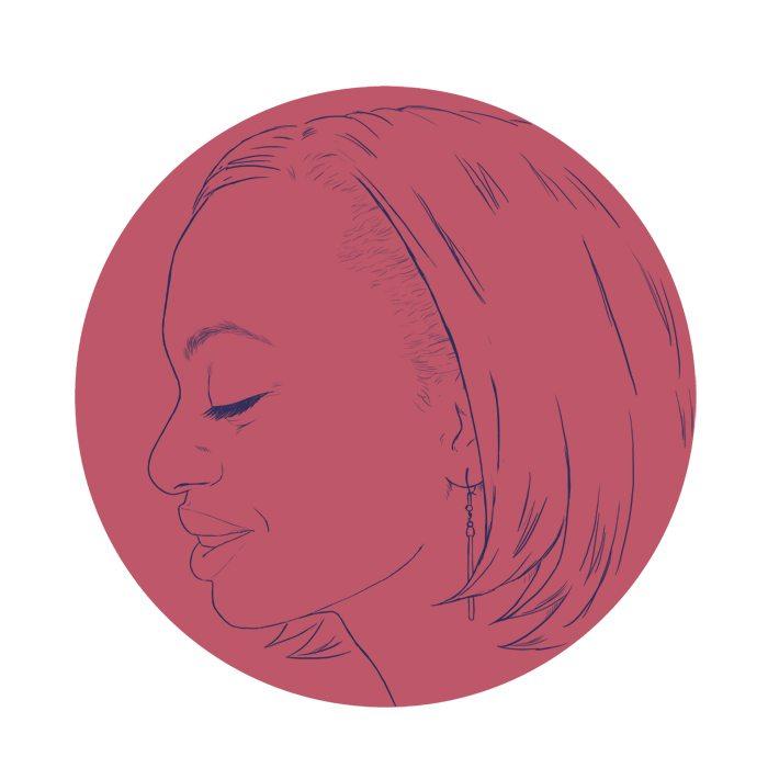 WIP Granddaughter Profile Portrait by Crespella