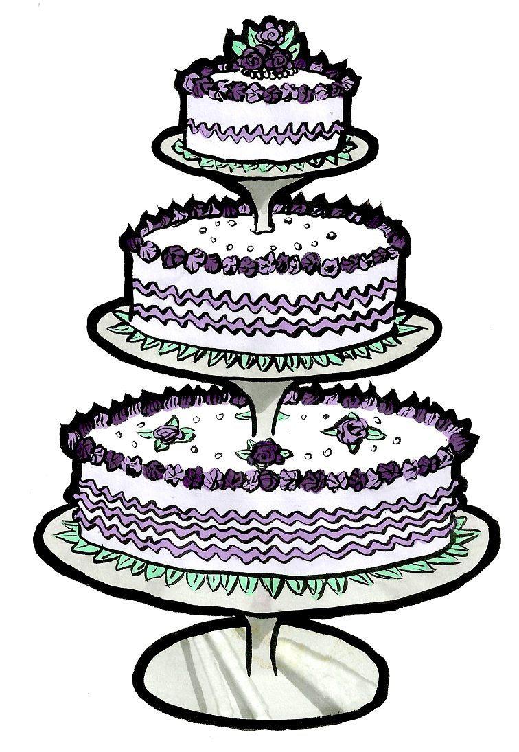 Wedding Cake Images Cartoon: Wedding cake cartoon lol cliparts ...