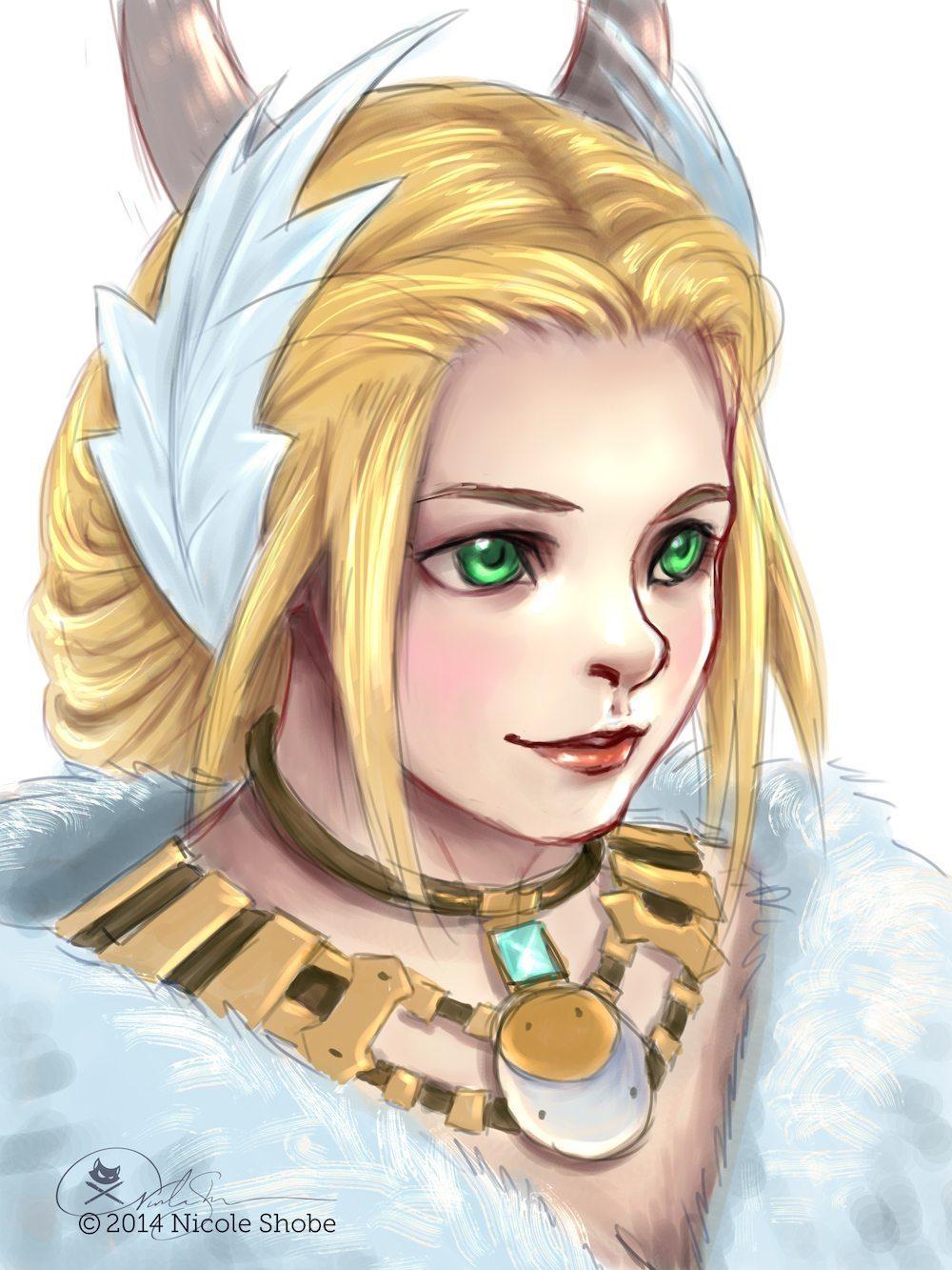 Sketch Portrait by Shobey1kanoby