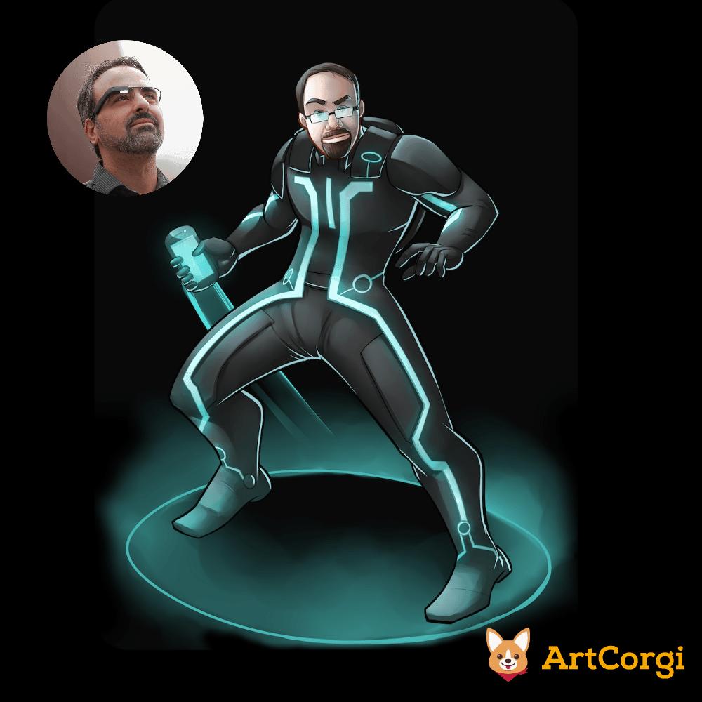 Steve Kondik of Cyanogen Before and After by Silvadoray via ArtCorgi