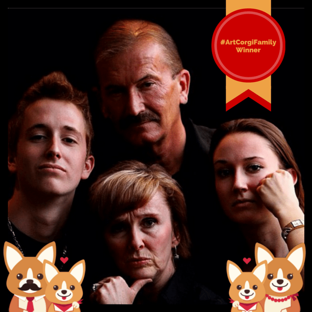 ArtCorgiFamily Contest Winner
