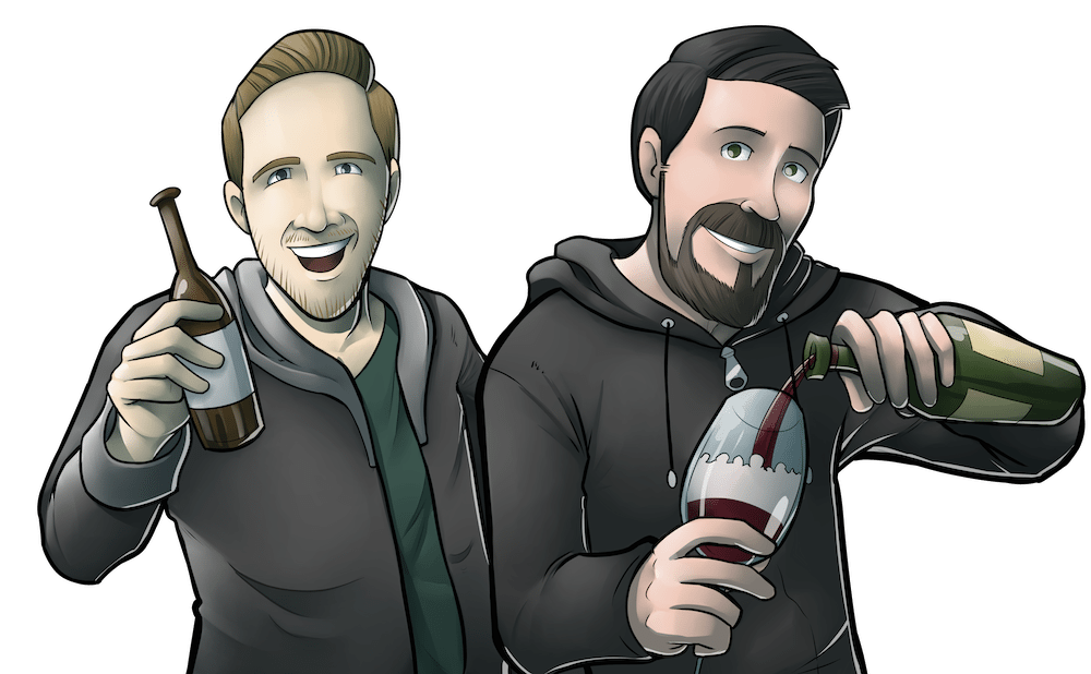 Cartoon Portrait of Chris and Jonathan of Partially Derivative by Silvadoray via ArtCorgi