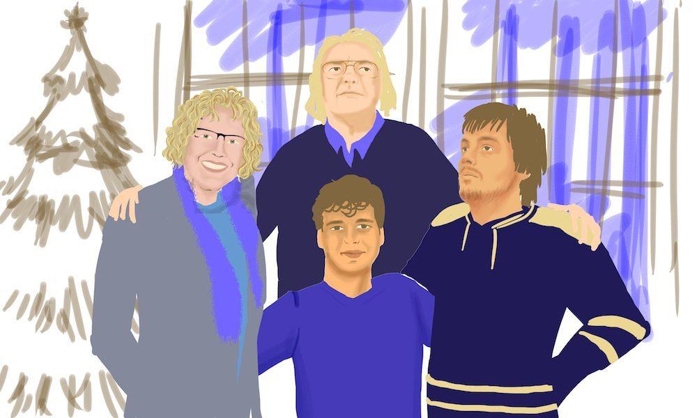 Draft Holiday Family Portrait by Beatriz Albir