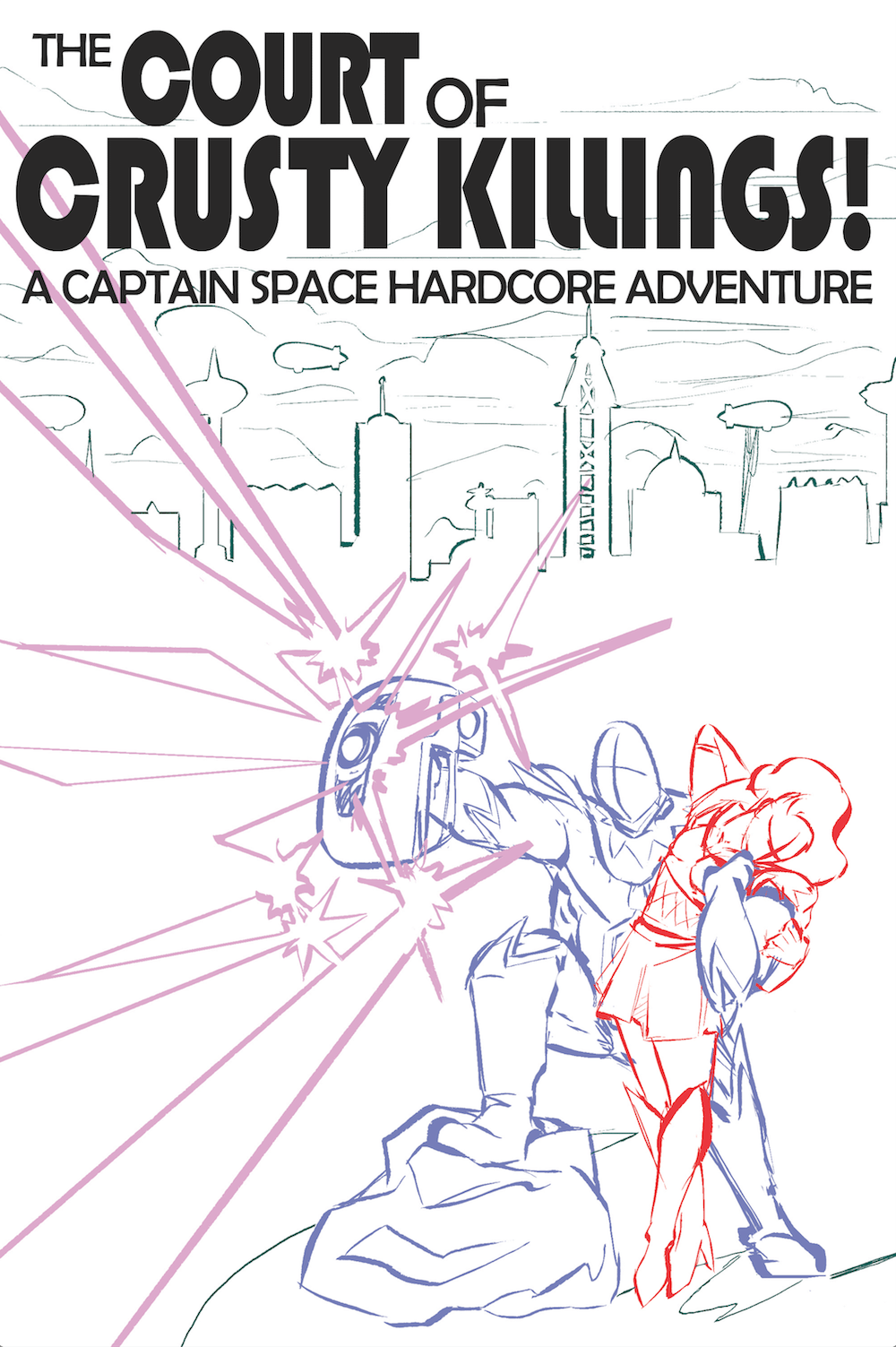 Sci Fi Book Cover Layout Draft by Omniopticon