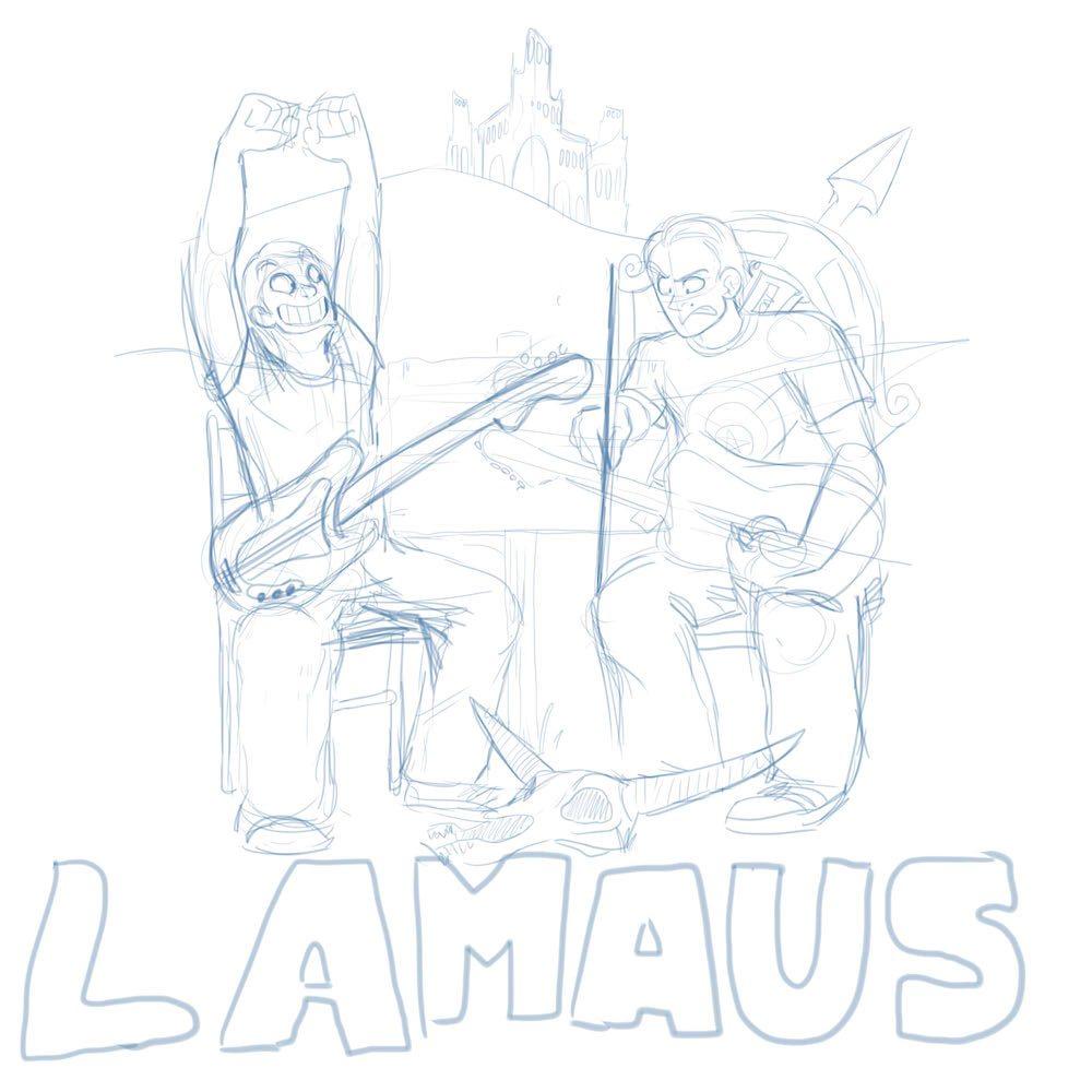 Lamaus Sketch by Denitsa Trandeva